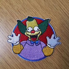 The Simpsons Krusty The Clown Patch 3 inches tall