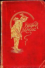 Higher Magic-Oscar Teale-1st Edition Book-Mythology-Seances-Oc cult-Mentalism-Oop