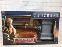 World Of Warcraft Movie Doomhammer Toy - New