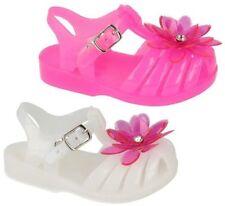 Sandales blanches avec boucle pour fille de 2 à 16 ans
