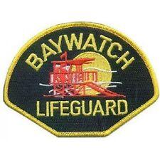 """Baywatch Logo Nähen Eisernen auf Aufnäher Stickerei Applikation Patch 4.5"""""""