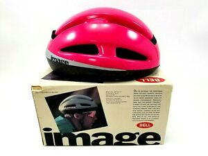 Cycling Helmet Bell Image Bicycle Bike M/L Magenta B90 with Box