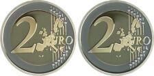 Vaticano 2 Euro Moneta Da Corso 2004 PIASTRA lucide, in Münzkapsel