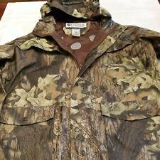 "Columbia Mens Rain Jacket and Pants Camouflage ""Mossy Oak"", Large NWOT"