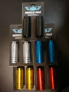 "New SE Bikes Wheelie Axle Pegs  35 x 98 3/8""-14mm in 5 different colors"