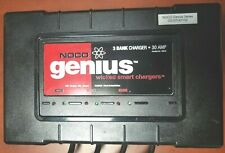 Noco Genius Battery Charger - 3 Bank 30 Amp Charger G3 07141132