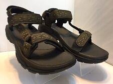NEW! Teva Men's Terra FI 4 Sandal Madang Camo Olive Webbing 1004485 Size 10