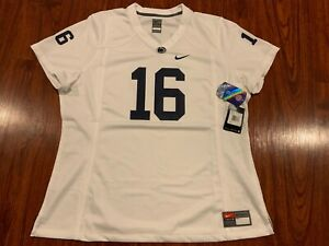 Nike Women's Penn State PSU Football Game Jersey XXL 2XL NCAA White We Are