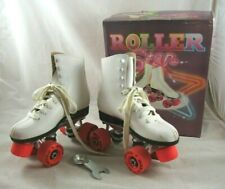 Girls Size 1 Roller Derby LA BEDA ROLLER STAR Skates with Box ORANGE Wheels