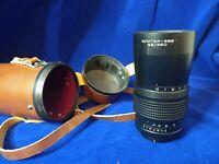 JUPITER 36B 250 mm f/3,5 Medium format lens for Kiev-60 for Pentacon Six