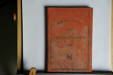1888 -  MANUALE HOEPLI - LETTERATURA GRECA