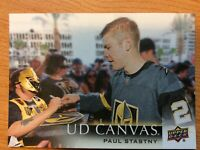UPPER DECK 2018-2019 SERIES TWO PAUL STASTNY CANVAS HOCKEY CARD C-202