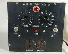 Vintage Laake Blitz-Zeitmesser Darkroom Enlarging Timer (Germany)
