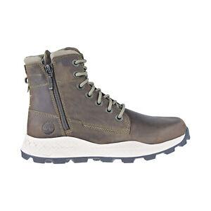 Timberland Brooklyn Side-Zip Men's Boots Olive Full Grain TB0A2726