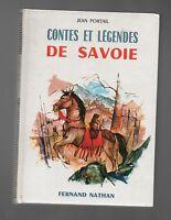 Contes et Légendes de SAVOIE. Nathan 1968. Etat neuf