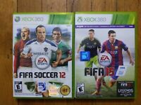 USED - Xbox 360 FIFA Soccer 12 + 15 - Lot of 2 - Bundle - Free Shipping