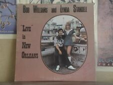 BOB WILLIAMS AND LYNDA STANDELL, LIVE IN NEW ORLEANS - AUTOGRAPHED CANADIAN LP
