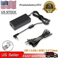 19V 3.42A 65W Laptop AC Adapter Charger For Toshiba PA3822U-1ACA L655 Power Cord