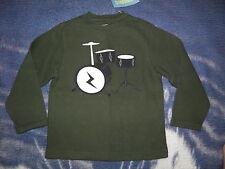 "GYMBOREE ""Rock Academy"" Drums Knit Shirt Size 5~ NEW!"