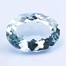 1.24ct 100% Natural earth mined rare top quality aaa blue aquamarine india