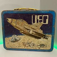 Vintage UFO Metal Lunchbox  1973 King-seeley NO THERMOS
