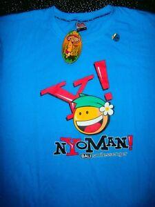 SUPREME RARE BALI TOON TOWN TEE LONG T-Shirt Mens ASIAN SZ 2XL SOUVENIR