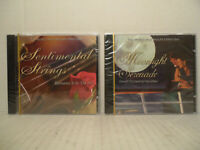 READER'S DIGEST Moonlight Serenade + Sentimental Strings (Bundle of 2 CD's) NEW