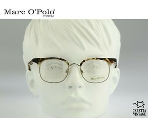 Marc O'Polo by Metzler 3343 564 Vintage 90s small square clubmaster eyeglasses