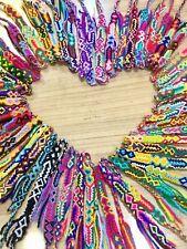 Woven Friendship Bracelets Wholesale Set of 12 String Cotton Bands Party Favours