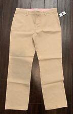 Gap Girls Uniform Pants 14 Plus New NET Tan Khaki