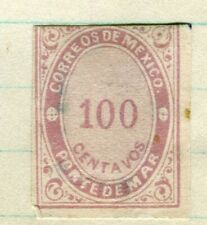 MEXICO; 1879 classic Imperf Official Service issue Mint unused 100c. value