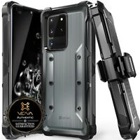 Vena vArmor Swivel Belt Clip Holster Kickstand Case for Samsung Galaxy S20 Ultra