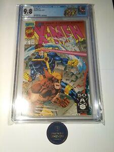 X-Men 1 CGC 9.8 WOLVERINE VARIANT Jim Lee Art Limited Edition Custom Label 1991