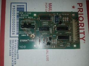 Stern 1981  SW-1100 A2036 OPTO BOARD