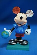 "Disney Mickey Inspearations Espn 25th Anniversary 6"" Figurine #17801 Retired"