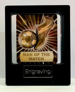 Man of the match Trophy, With FREE ENGRAVING & P&P