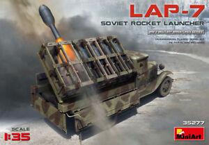 1/35 MINIART SOVIET ROCKET LAUNCHER LAP-7 #35277