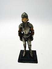Soldato templare in resina pesante 7 cm