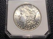 1887-P MORGAN DOLLAR - CHOICE BU ~ INV#6821