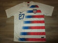 Christian Ramirez #27 United States US Soccer Football Jersey Mens LG L
