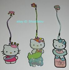EXCELLENT Sanrio Official Licensed HELLO KITTY Metal Bookmarks Set of 3