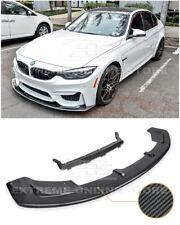 For 15-Up BMW F80 M3 | F82 F83 M4 CARBON FIBER Front Bumper Lower Lip Splitter