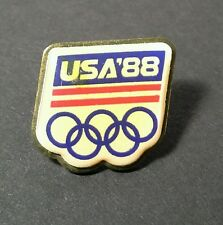 Olympic Pin 1988 U.S.A. Vintage All, USA