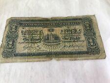 Rare Commonwealth of Australia 1918 KGV Cerutty-Collins One Pound Banknote R21
