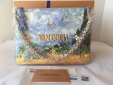 BNIB Louis VuittonX Jeff Koons Masters Collection Van Gogh Pochette Clutch Bag