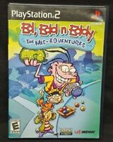 Ed, Edd n Eddy The Mis-Edventures PS2 Playstation 2 Game Tested Working Complete
