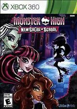 XBOX 360 MONSTER HIGH GHOUL IN SCHOOL BRAND NEW VIDEO GAME