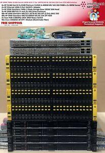 HPE 3PAR 7400c 2Tier 109TB SSD & 15K SAS 360 Gen10 10GBit iSCSI 224 Core 2TB SAN