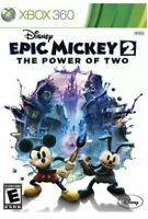 Epic Mickey 2 The Power of Two Xbox 360/One Kids Mickey Mouse Disney Game