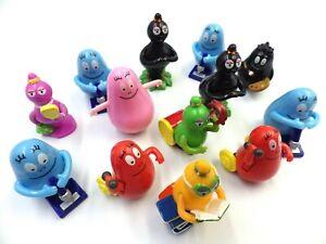 Bundle Of 13 Figurines Toys Barbapapa Mini Figure 2011 At Mpg 3cm